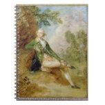 Edward Augustus, Duke of Kent, c.1787 (oil on canv Spiral Notebook