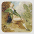 Edward Augustus, Duke of Kent, c.1787 (oil on canv Square Sticker