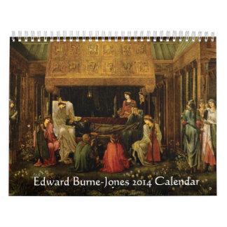 Edward Burne-Jones 2014 Calendar