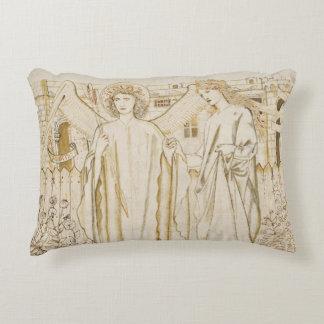 Edward Burne-Jones -Chaucer's Legend of Good Women Accent Pillow