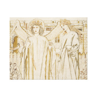 Edward Burne-Jones -Chaucer's Legend of Good Women Canvas Print