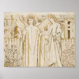 Edward Burne-Jones -Chaucer's Legend of Good Women Poster