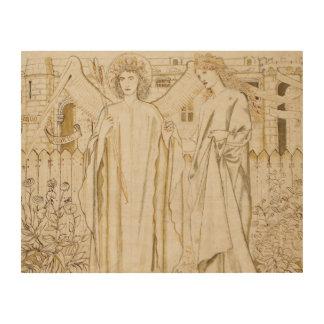 Edward Burne-Jones -Chaucer's Legend of Good Women Wood Print