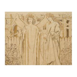 Edward Burne-Jones -Chaucer's Legend of Good Women Wood Wall Art