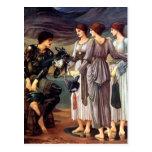 Edward Burne-Jones el armar de Perseus Tarjetas Postales