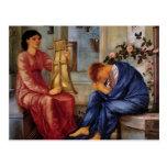 Edward Burne-Jones el Lament Postales