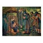 Edward Burne-Jones: Estrella de Belén Postal