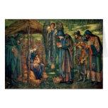 Edward Burne-Jones: Estrella de Belén Tarjeta De Felicitación
