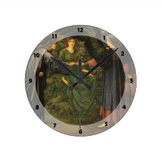 Edward Burne-Jones- Heart of the Rose Clocks