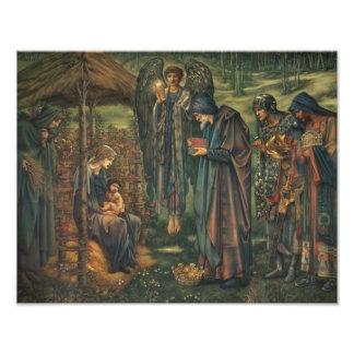 Edward Burne-Jones - la estrella de Belén Cojinete