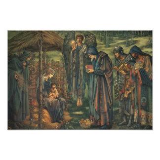 Edward Burne-Jones - la estrella de Belén Fotografía