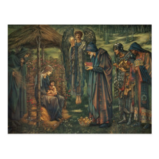 Edward Burne-Jones - la estrella de Belén Tarjetas Postales
