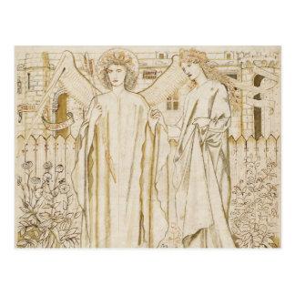 Edward Burne-Jones - la leyenda de Chaucer de Tarjeta Postal