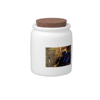 Edward Burne-Jones- Love Among the Ruins Candy Jars
