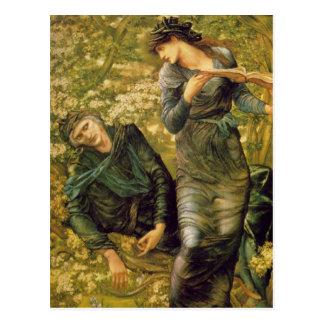 Edward Burne-Jones - Merlin GC Postcard