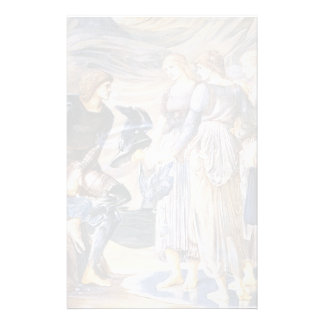Edward Burne-Jones- Perseus and the Sea Nymphs Stationery Design