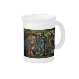 Edward Burne-Jones: Star of Bethlehem Beverage Pitcher