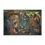 Edward Burne-Jones: Star of Bethlehem Canvas Print