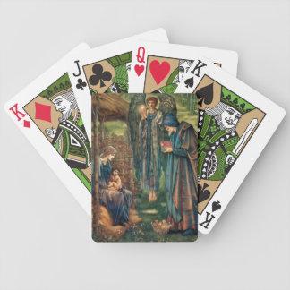Edward Burne-Jones: Star of Bethlehem Bicycle Playing Cards