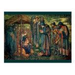 Edward Burne-Jones: Star of Bethlehem Postcard