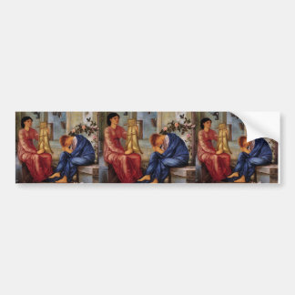 Edward Burne-Jones- The Lament Car Bumper Sticker