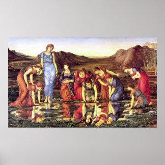 Edward Burne-Jones The Mirror of Venus Poster