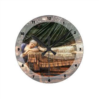 Edward Burne-Jones- The Sleaping Beauty Clocks