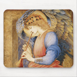 Edward Burne-Jones - un ángel que juega una chirim Tapetes De Ratón