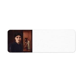 Edward Burne-Jones y su familia en el fondo Etiquetas De Remite
