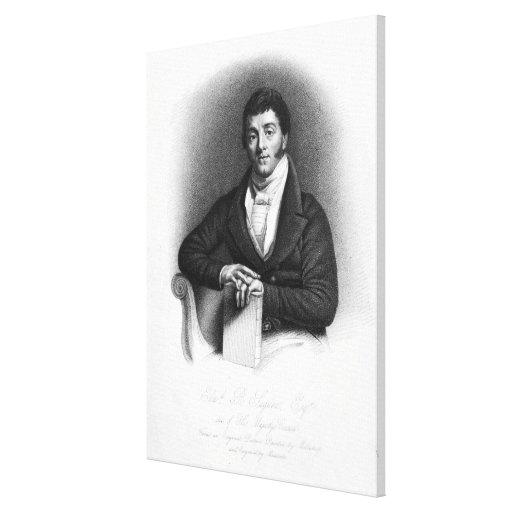 Edward Buttenshaw Sugden, 1st Baron St. Canvas Print