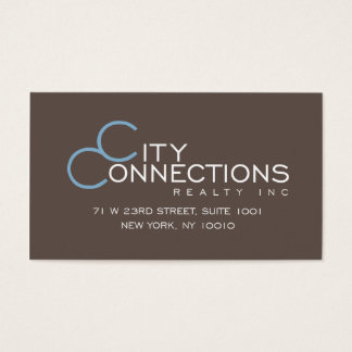 edward ccrny brown business card