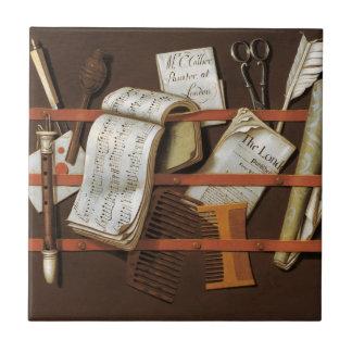 Edward Collier - Letter rack Ceramic Tile