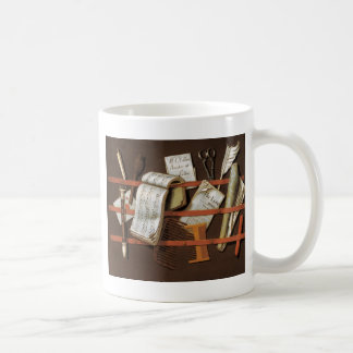 Edward Collier - Letter rack Coffee Mug
