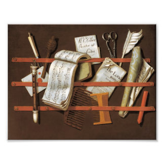 Edward Collier - Letter rack Photo
