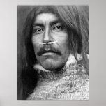 Edward Curtis - hombre de Koprino Posters