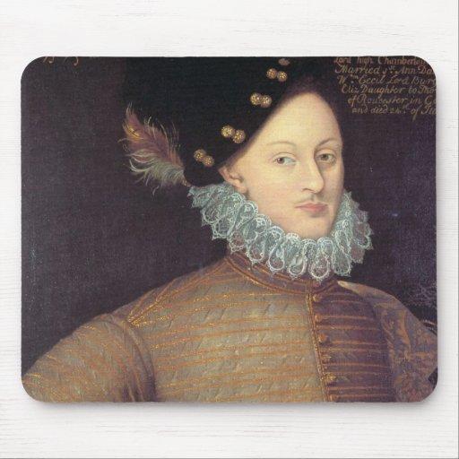Edward de Vere, 17mo conde de Oxford Alfombrillas De Raton