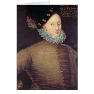 Edward de Vere, 17th Earl of Oxford Greeting Card