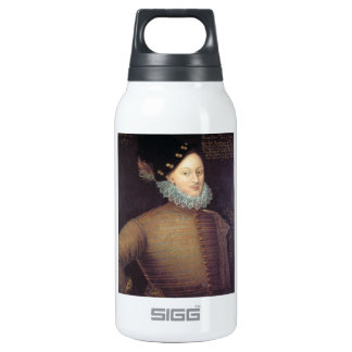 Edward de Vere, 17th Earl of Oxford 10 Oz Insulated SIGG Thermos Water Bottle
