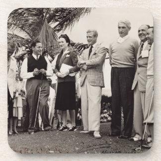 Edward, Duke of Windsor (1894-1972) and Wallis, Du Beverage Coaster