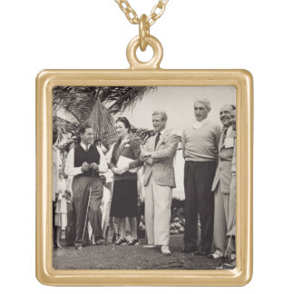 Edward, Duke of Windsor (1894-1972) and Wallis, Du Gold Plated Necklace