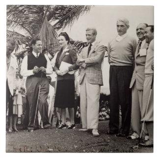 Edward, Duke of Windsor (1894-1972) and Wallis, Du Tile