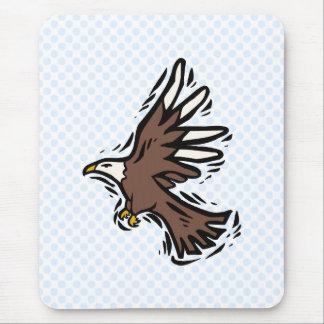 Edward Eagle Mouse Pad