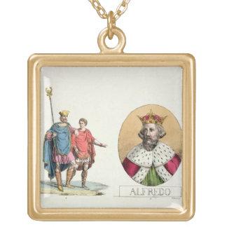 Edward el confesor y el rey Alfred, platea 7 de Joyerias
