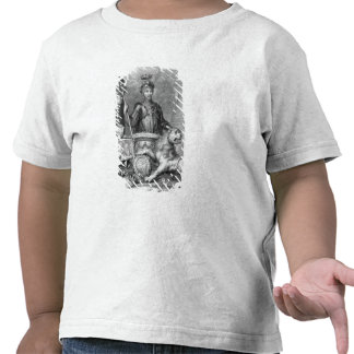 Edward el príncipe negro 1330-76 después del mon camiseta