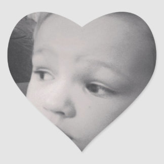 Edward - Ella's hair styling Heart Sticker