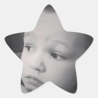 Edward - Ella's hair styling Star Sticker