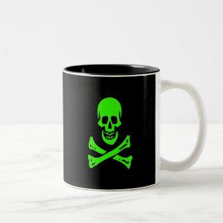 Edward England-Green Two-Tone Coffee Mug