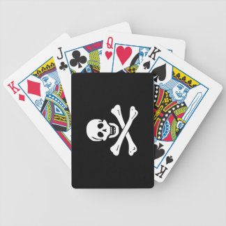 Edward England; Jolly Roger Flag Bicycle Playing Cards