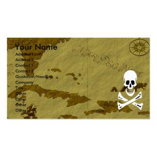 Edward England Map #5 Business Card Template