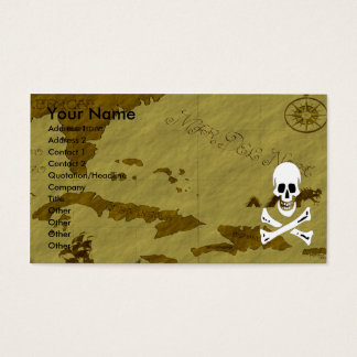 Edward England Map #5 Business Card